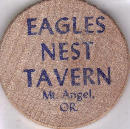 Wood eagles nest