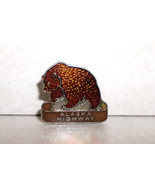 Alaska Highway in Canada Bear Collectible Lapel Pin - $5.49