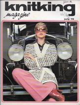 KnitKing Vol 11 No 5 1975 Magazine Machine Knit Patterns Articles & More... - $6.99