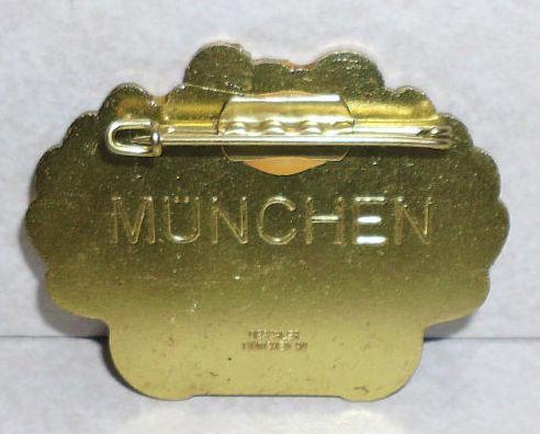 Sankt Emmerams Muhle Munchen Germany 1990 Pin