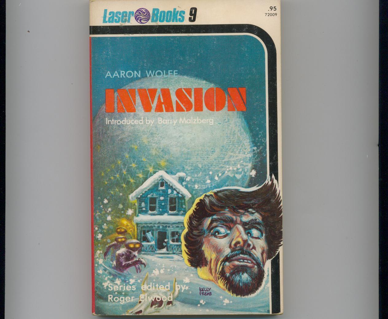Koontz (as Wolfe) - INVASION - 1975 - 1st pr. - Laser Books