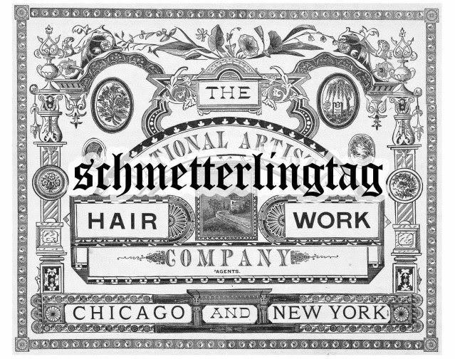 Victorian Era Hair Work Book Jewelry 255 Designs 1866