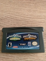 Nintendo Game Boy Advance GBA Power Rangers: Time Force & Ninja Storm Combo Pack image 3