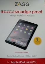 NEW ZAGG InvisibleShield Smudge-Proof Screen Protector for iPad mini 2 / 3 - $7.50