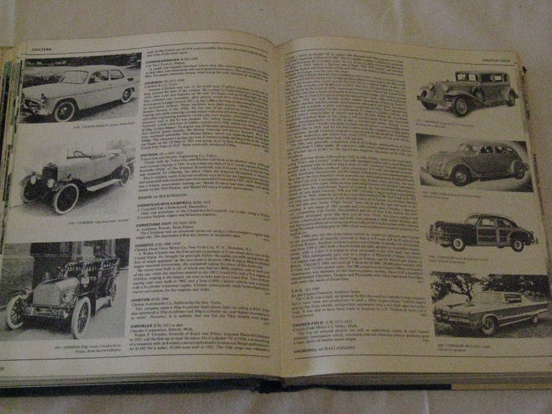 The Complete Encyclopedia of Motorcars, 1885 to Present, G.N. Georgano, 1970
