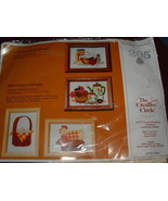 THE CREATIVE CIRCLE CHICKEN AND EGGS EMBROIDERY KIT - $9.95