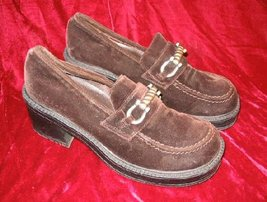 Brown Suede Current Attractions Dress Shoes 8 - $12.00