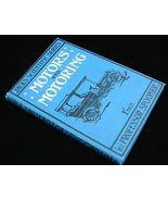 1906 Motors & Motoring Book Auto Repair Manual Car Guide - $17.50