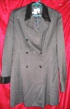 Womens Jeselle Wool Black Business Suit Jacket Coat 12 - $30.00