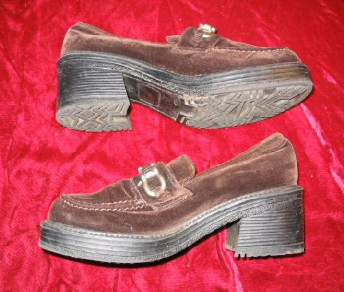 Brown Suede Current Attractions Dress Shoes 8