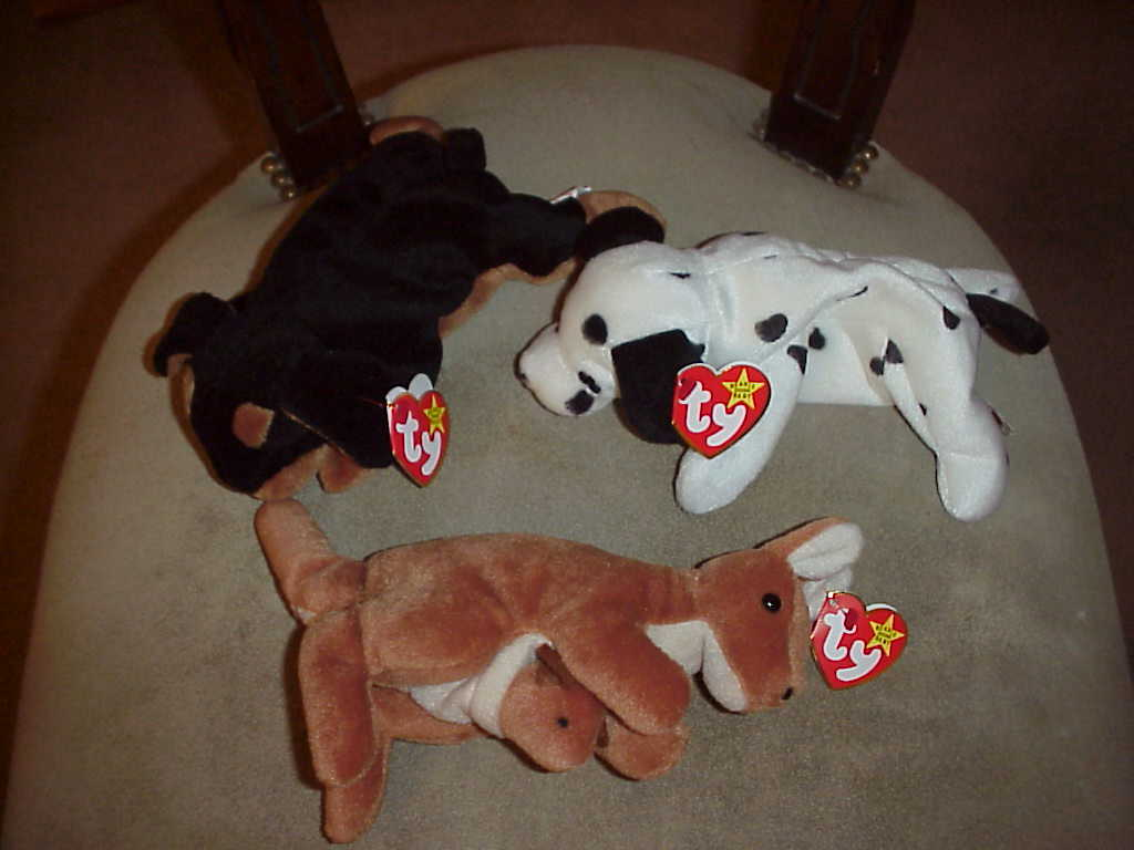 Beanie Babies Lot of 14 Mint with Tags