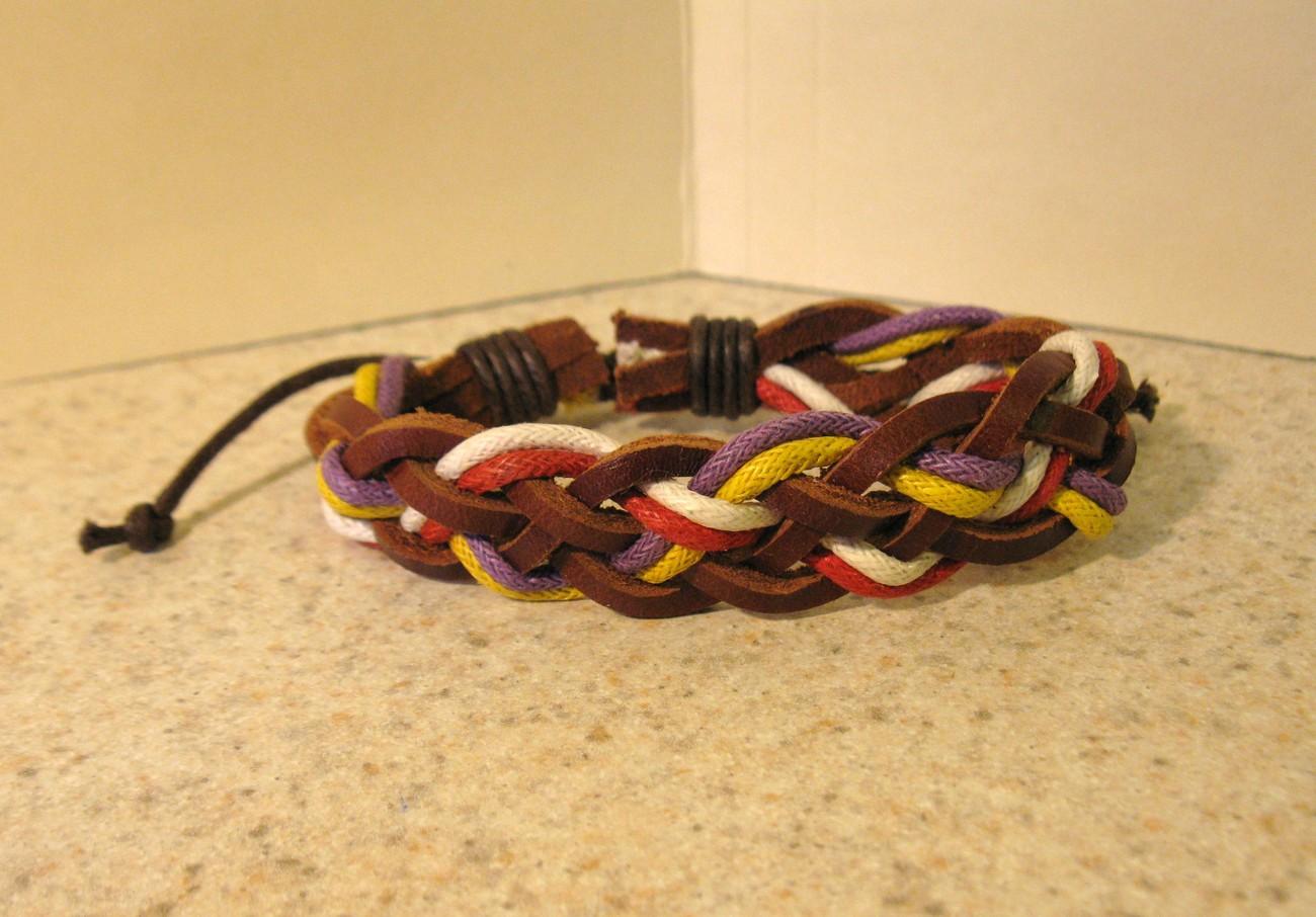266 multi color braid