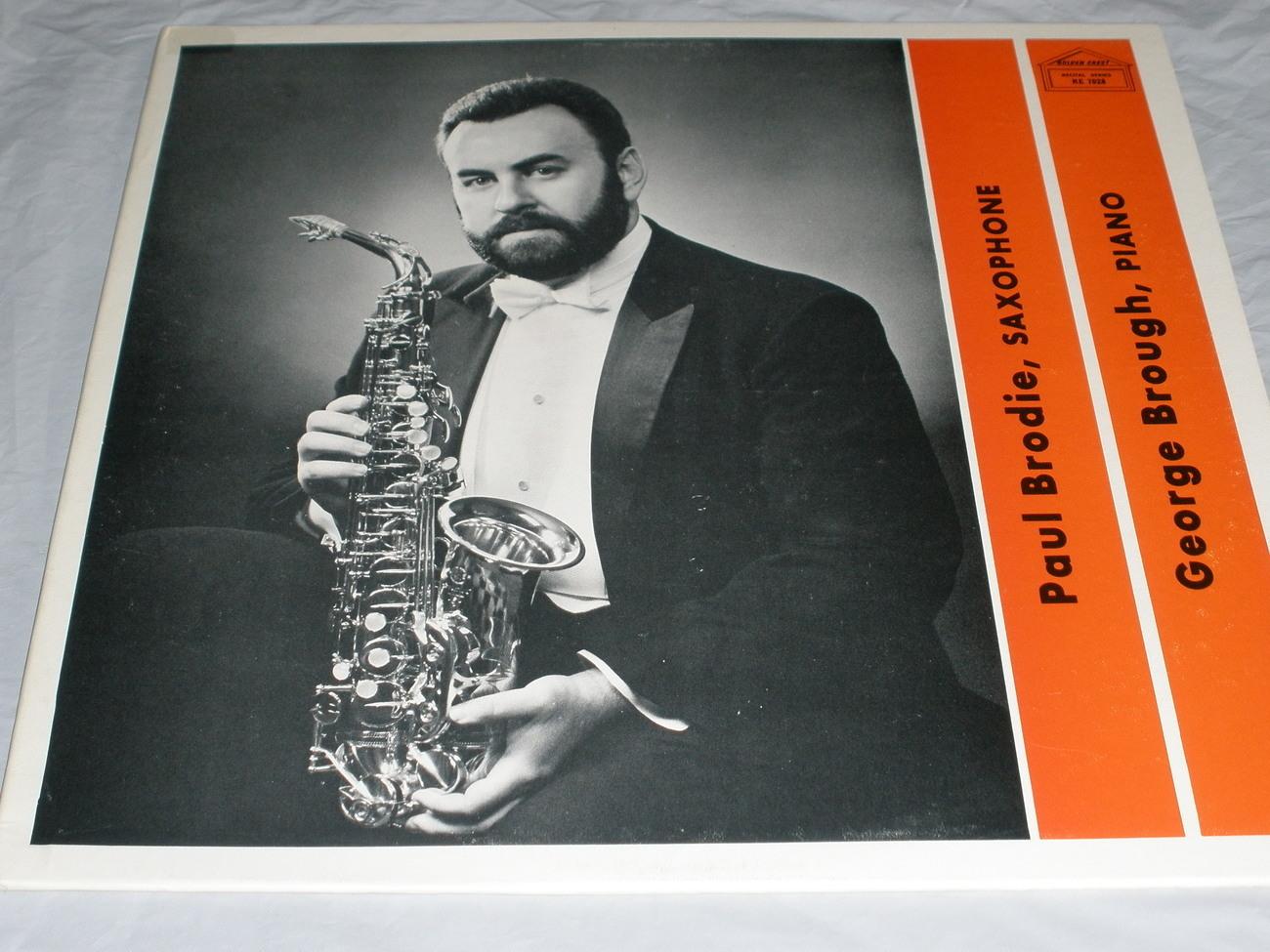 Paul brodie   sax   lp