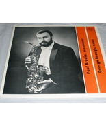 Paul Brodie, Saxophone &  George Brough, Piano - $9.50
