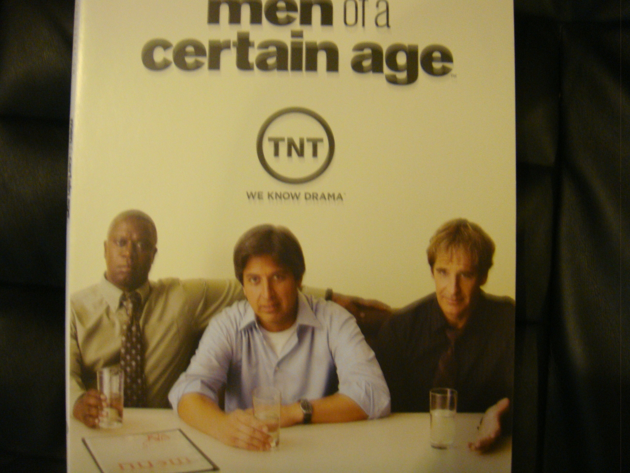MEN OF A CERTAIN AGE EMMY DVD TNT +FAB COLOR PICTURE BOOK 3E