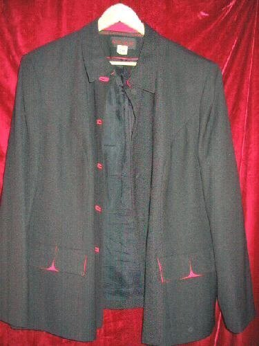 Womens John Meyer Suit Jacket Plus Size 24W Dry Cleaned