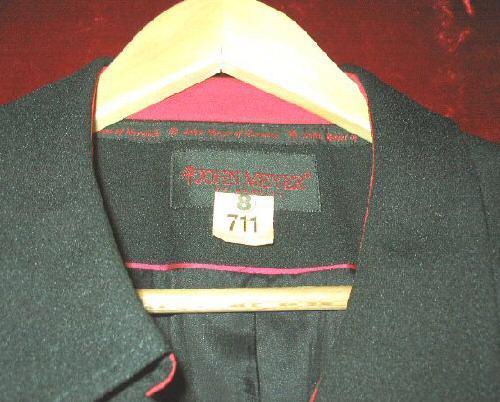 Womens John Meyer Suit Jacket Plus Size 24W Dry Cleaned