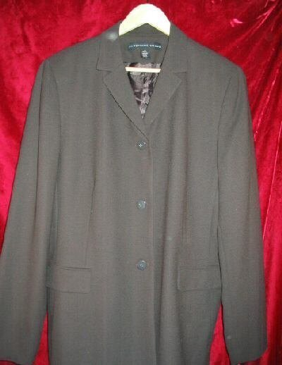 Womens Josephine Chaus Wool Career Suit Jacket 16