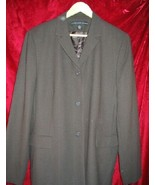 Womens Josephine Chaus Wool Career Suit Jacket 16 - $35.00