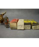 6HQ5 Vacuum Tubes  Lot of 4  RCA / GE / Sylvania - $30.16