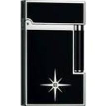 S.T.Dupont Diamond Solitaire L2 Lighter preowned in original box - $1,950.00