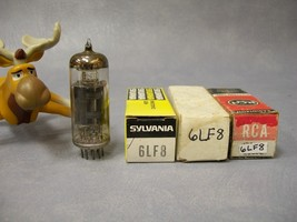 6LF8 Vacuum Tubes Various Brands  Curtis Mathes / RCA / Sylvania  Lot of 3 - $30.16