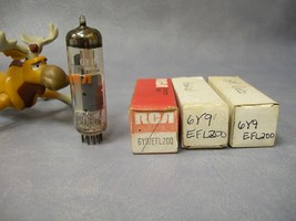 6Y9 / EFL200 Vacuum Tubes  Lot of 3   RCA Admiral  GM Delco - $30.16