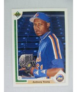 Anthony Young New York Mets 1991 Upper Deck Baseball Card 65 F - $0.98