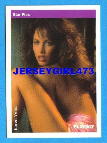 Karen Velez 1992 Playboy Card #22