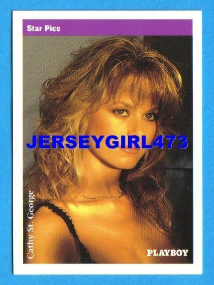 Cathy St. George 1992 Playboy Card #19