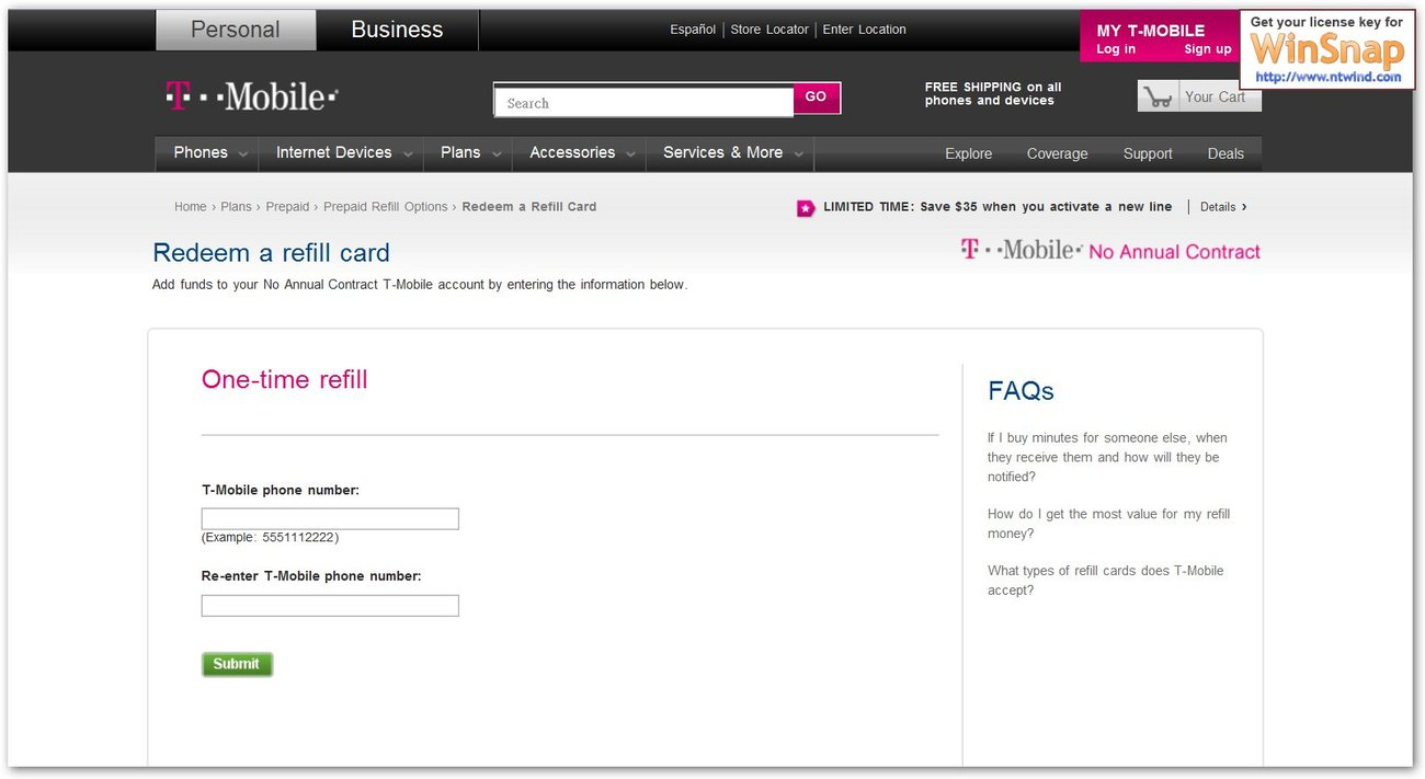 T Mobile 50 Prepaid Refill Card Code And 50 Similar Items