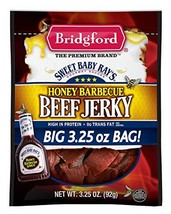 Bridgford Sweet Baby Ray's Honey Barbecue Beef Jerky, 3.25 Oz (Pack of 2) - $19.87