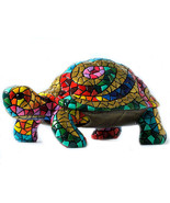 Barcino Carnival Large Turtle Sculpture Hand Painted New brand from Barc... - $436.59