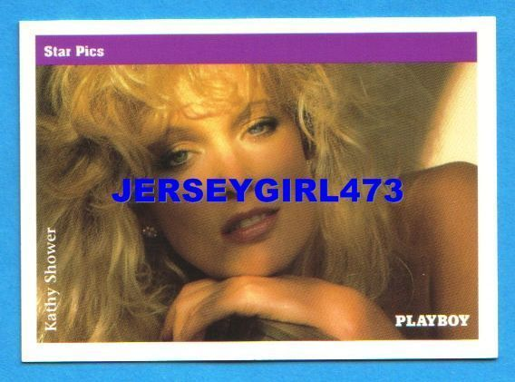 Kathy Shower 1992 Playboy Card #23