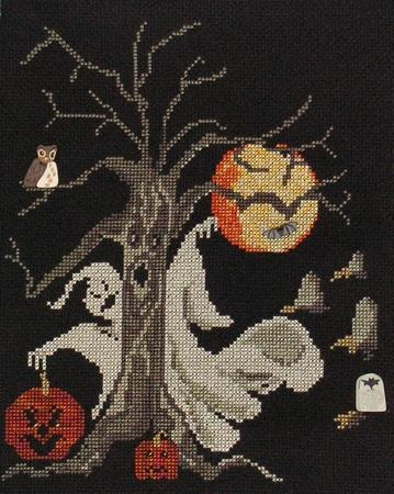 Primary image for Things That Go Bump In The Night halloween cross stitch chart Cross-Point Design