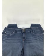Torrid Women 28T Jegging Jeans Blue Straight Whiskered Shaded Stretchy Z... - $26.17