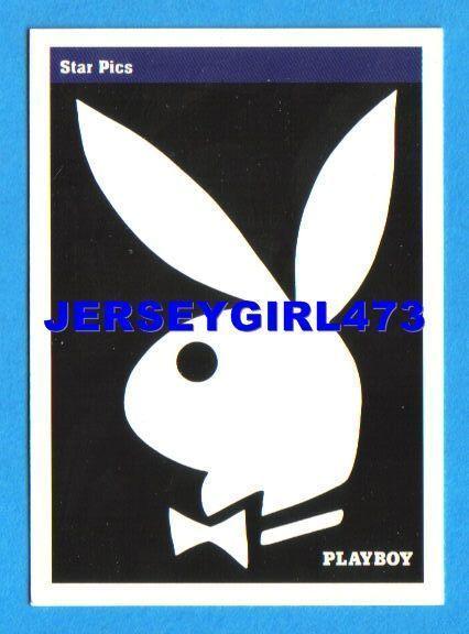 Rabbit Head Design 1992 Playboy Card #3