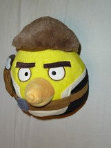 2012 Star Wars Angry Birds Plush 8 Inch Han Solo No Sound Yellow* - $27.26