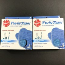 2 Boxes NEW Hoover Twin Tank Mop Microfiber Steam Cleaner Refill Pads (4... - $23.74