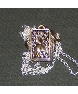angel placing star into the sky pendant with ss... - $19.99