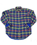 VINTAGE Polo Ralph Lauren Flannel Shirt Adult Extra Large TALL XLT Midwe... - $101.67