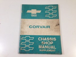 1968 Chevrolet Corvair Factory Chassis Shop Manual Supplement Original OEM - $14.99