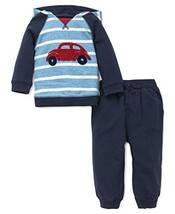 Little Me Baby Boys' Shirt and Jogger Set, Car, 24 Months - $60.68