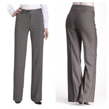 NWT $98 Not Your Daughter's Jeans 4P Tummy Tuck Gray Herringbone Trousers - $40.84