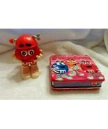 M&M Red Valentine character & Valentine suitcase - $6.95