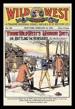 Wild West Weekly: Young Wild West's Mirror Shot - Art Print - $19.99+