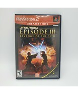 Star Wars Episode III 3: Revenge Of The Sith PlayStation 2 PS2 Game CIB ... - $9.70