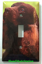 American Water Spaniel Dog Light Switch Power Duplex Outlet Wall Plate Cover image 4