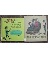 2 James and Ruth McCrea books the story of olaf, The Magic Tree - $6.00