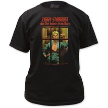 David Bowie Ziggy Stardust & The Spiders From Mars Album Phonebooth T-Sh... - $21.99+